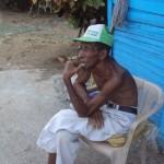 Ernesto Guevara Santana el unico que abita en esta zona del copey