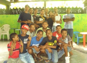 grupo juvenil del show de talentos cienaguero